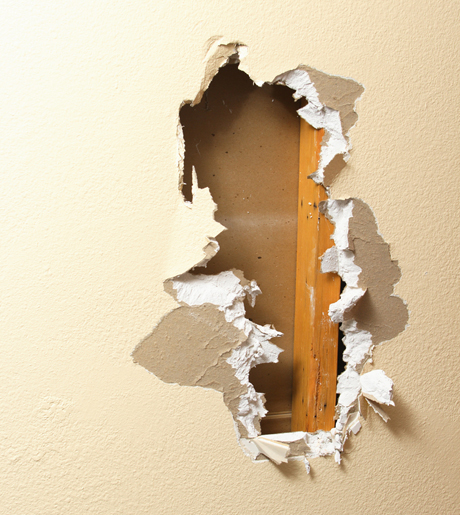 sheetrock repair contractor in boulder co
