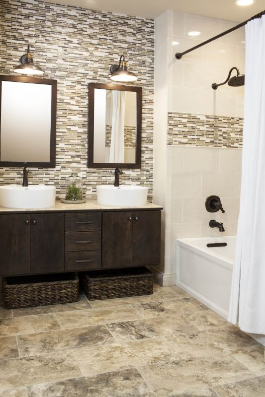 The hottest tile trends heading into 2017 handyman hub for Tile trends 2017 bathroom